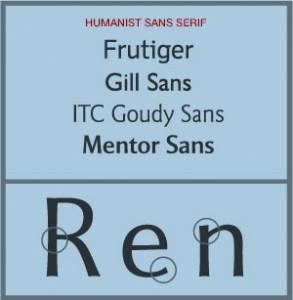 Humanist Sans-serif