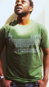 Periodic Table of Typefaces Men's Forest Green T shirts