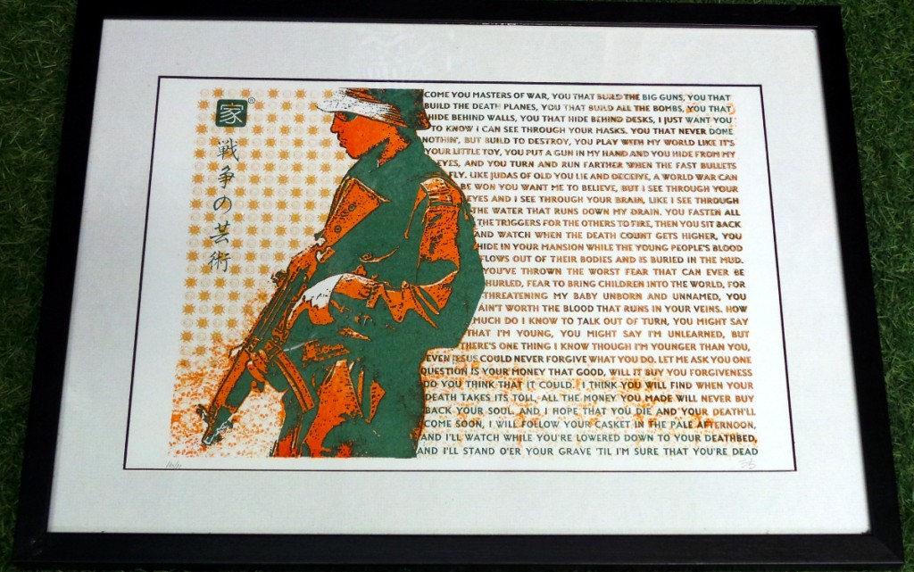 Screen print - Masters of War