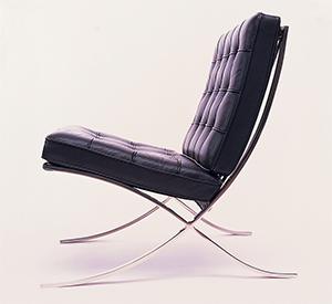 Barcelona Chair, Miles van der Rohe, 1929