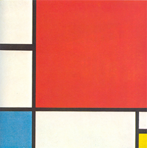 Composition with Red, Blue and Yellow, Piet Mondrian, 1930