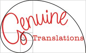Genuine Translations logo, 2014