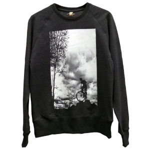 Sweatshirt - Mountain Top - black