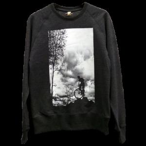 Sweatshirt - Mountain Top - black