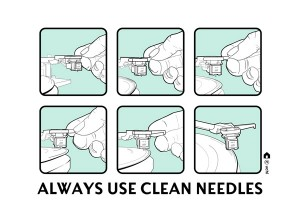 Always Use Clean Needles 12inch - Extended Remix