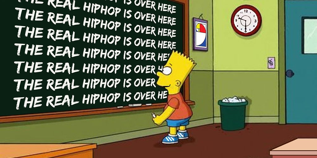 Real Hip Hop is over here