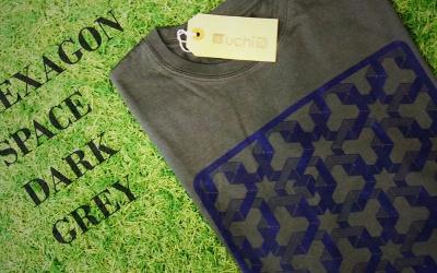Hexagon Space T shirt – Dark Grey Edition