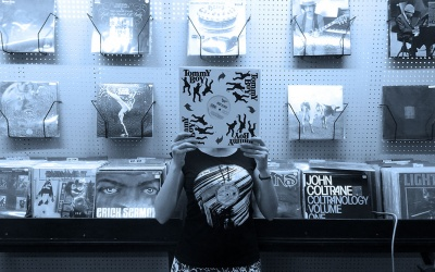 Love vinyl T shirts