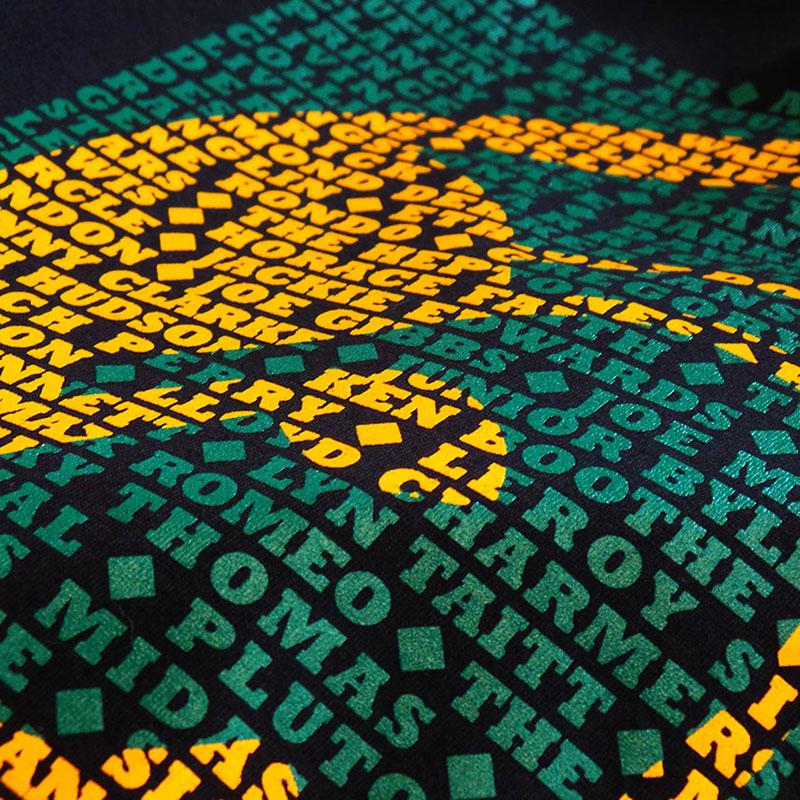 Trojan Records T shirt detail