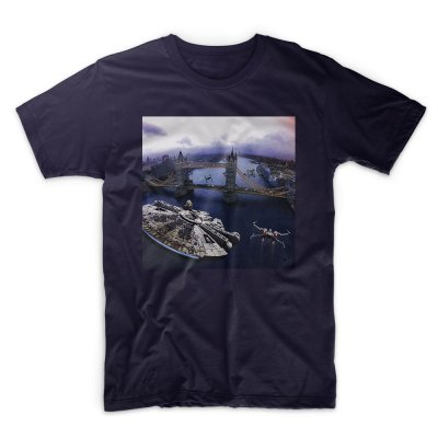 Star Wars- Incident at Tower Bridge - colour T shirt by IX T shirts