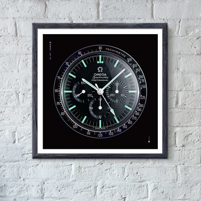 OMEGA Speedmaster art print - uchi horology series