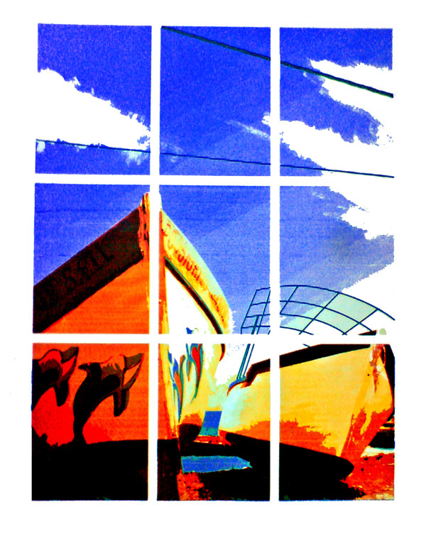 uchi Boat Trip to Mauritus screen print