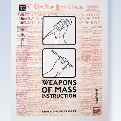 Weapons of Mass Instruction - New York Times - August 6th 1945 - Limited Edition screen print