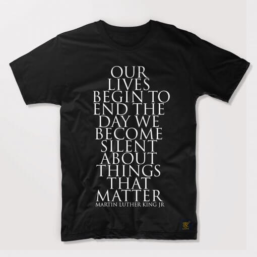 Men's T shirt - Things That Matter by uchi clothing