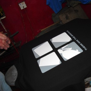 These Are The Breaks T shirt printing