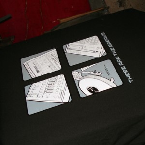 These Are The Breaks T shirt print