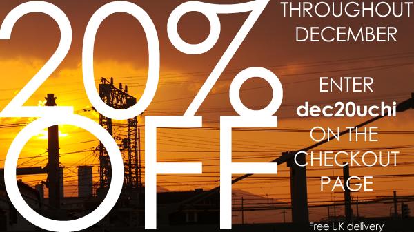 20% off! December discounts