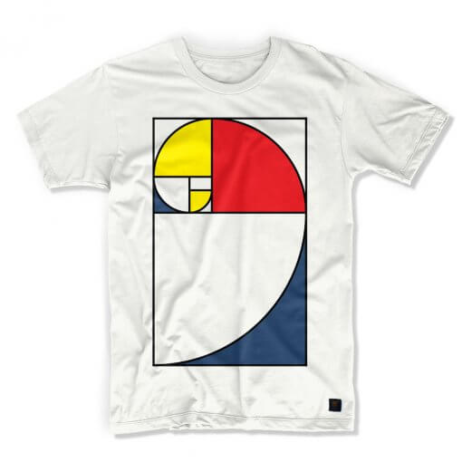 Golden Section Men's white T shirt