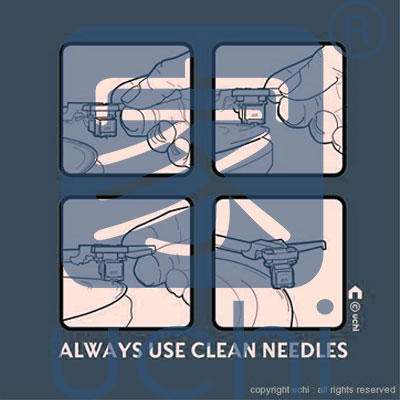 0005 - Always Use Clean Needles