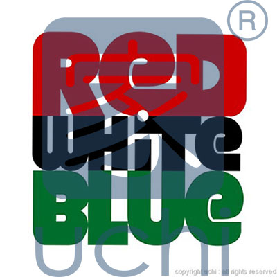 0013 - Red White Blue