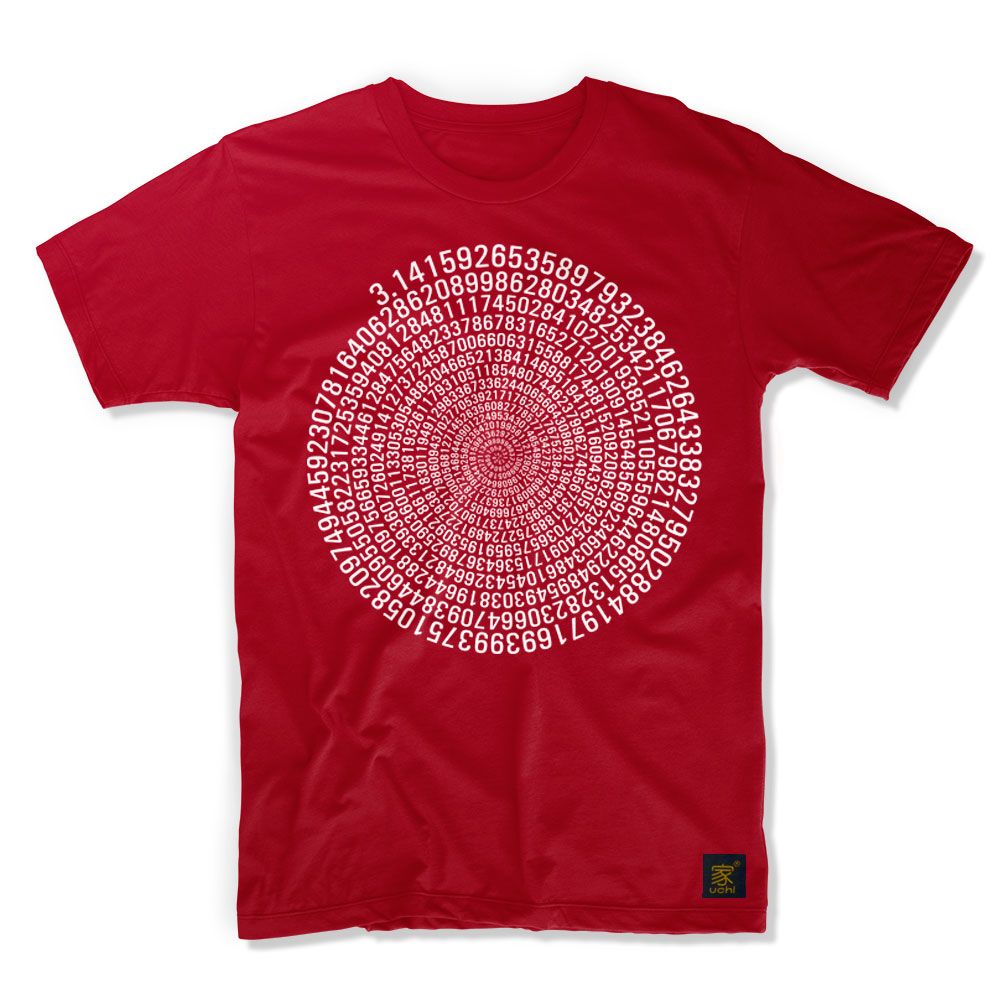 ebaf22f0e Pi Men's T shirt by uchi clothing