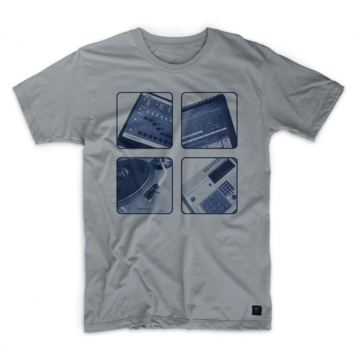 uchi These Are The Breaks Too Men's grey T shirt