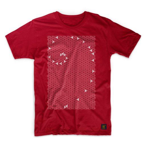 Mens T shirt - Alhambra - dark red