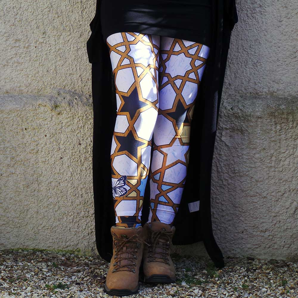 Butterfly leggings- by uchi