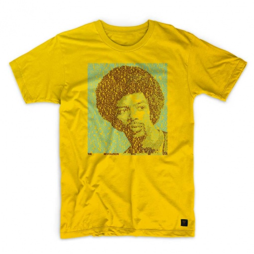 The Revolution will Not Be Televised - Gil Scott Heron Sunflower T shirt
