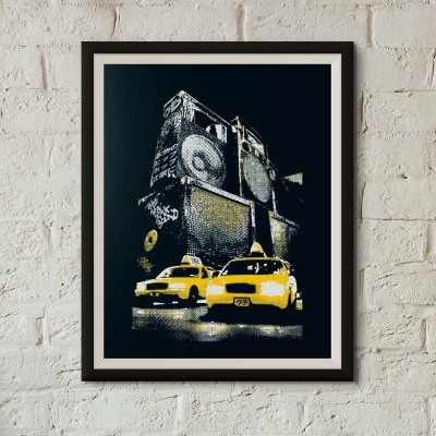 New York Sound screenprint