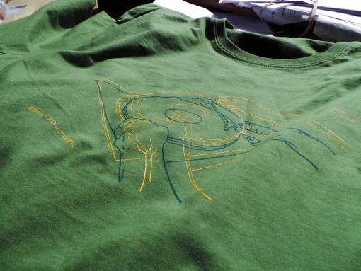 Now We May Begin Again - Mens forest green T shirt