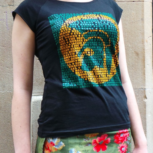 Women's Trojan Records bamboo T shirt