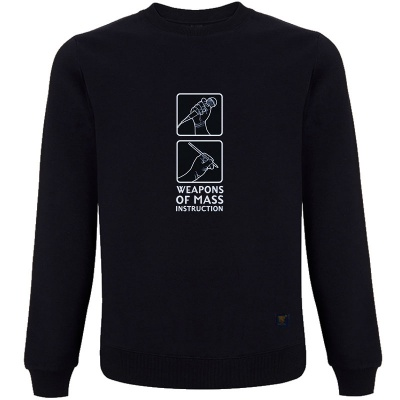 Weapons of Mass Instruction Navy Sweatshirt
