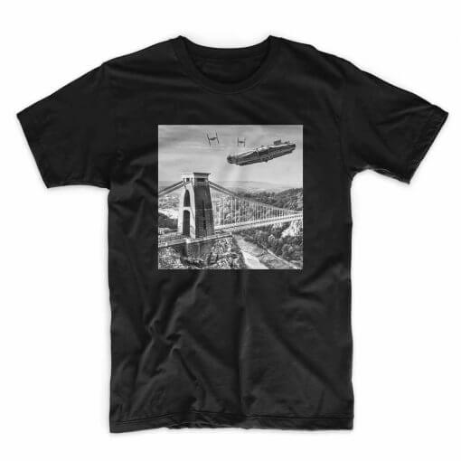 IX-TShirt Millennium black T shirt