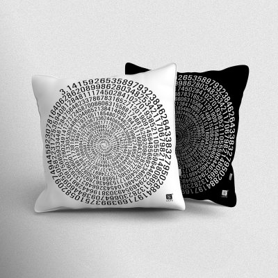 Pi Indoor Throw Pillow