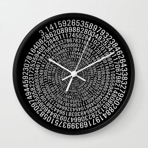Pi clock - black
