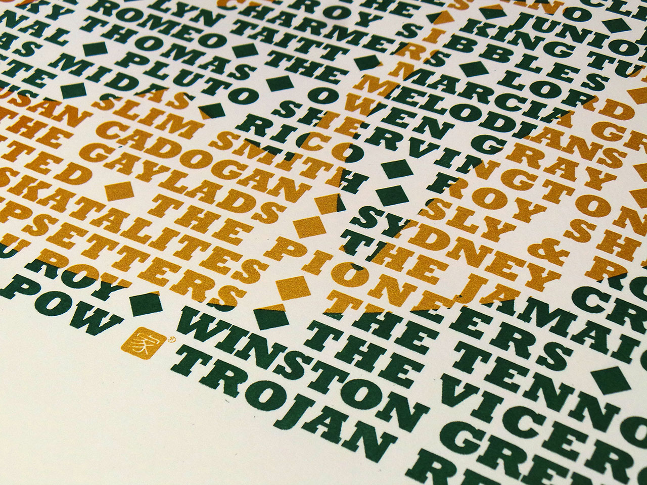 Trojan Records - limited edition screen print by uchi clothing