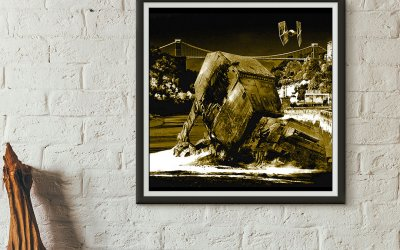 Star Wars vs Bristol Fine Art Prints & T shirts
