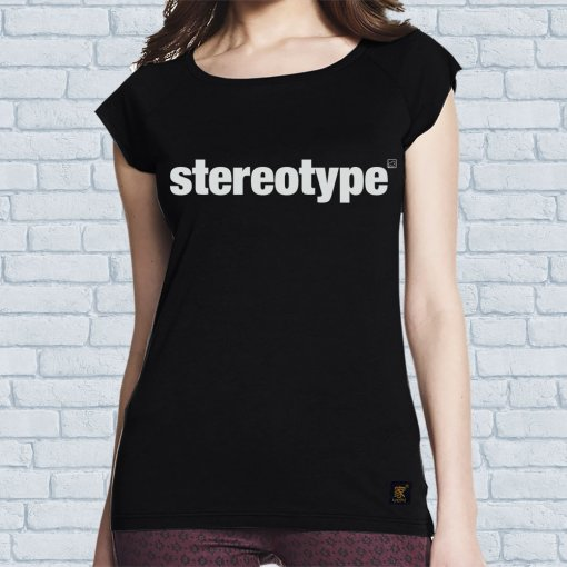 Stereotype women's bamboo T shirt by uchi clothing