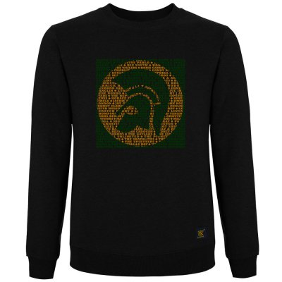 Trojan Records Label - Black sweatshirt by uchi clothing