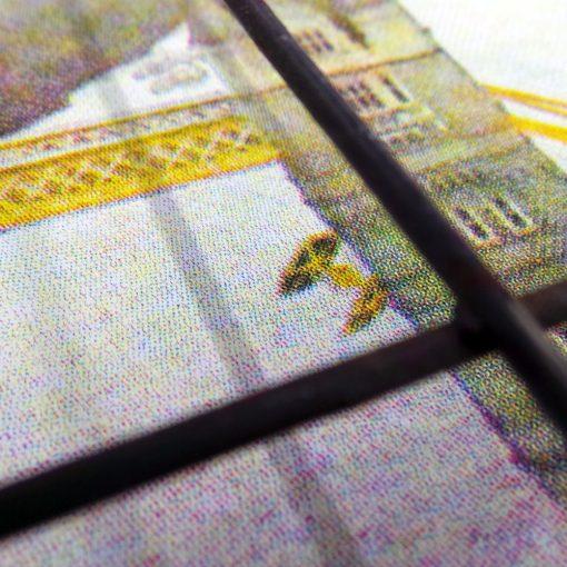Star Wars Tower Bridge screen print - detail