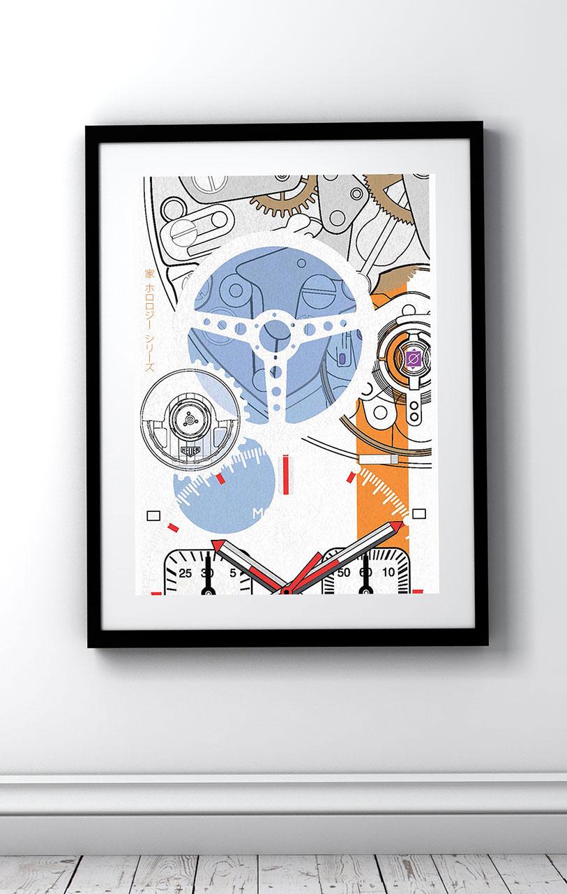 TAG Heuer Monaco No 1 Art Print