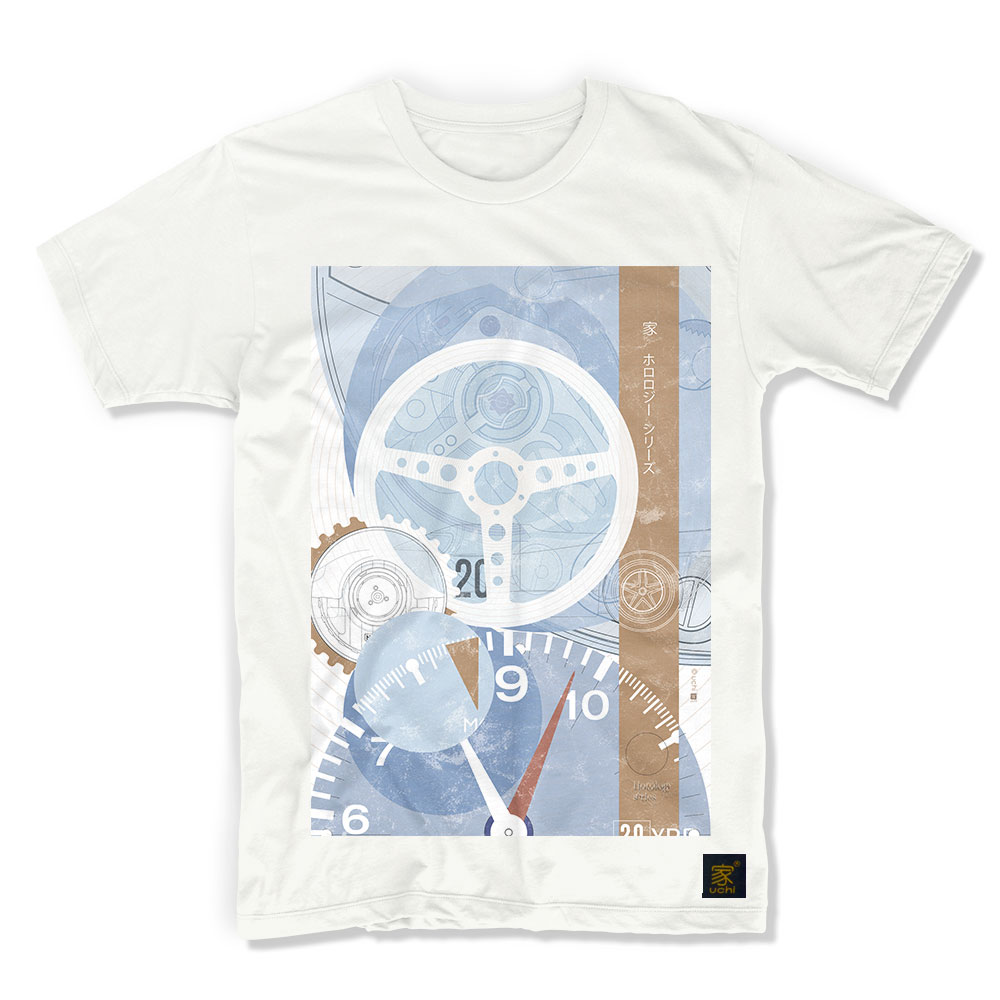 2b3cbade3 TAG Heuer Monaco Timepiece art T shirt by uchi clothing