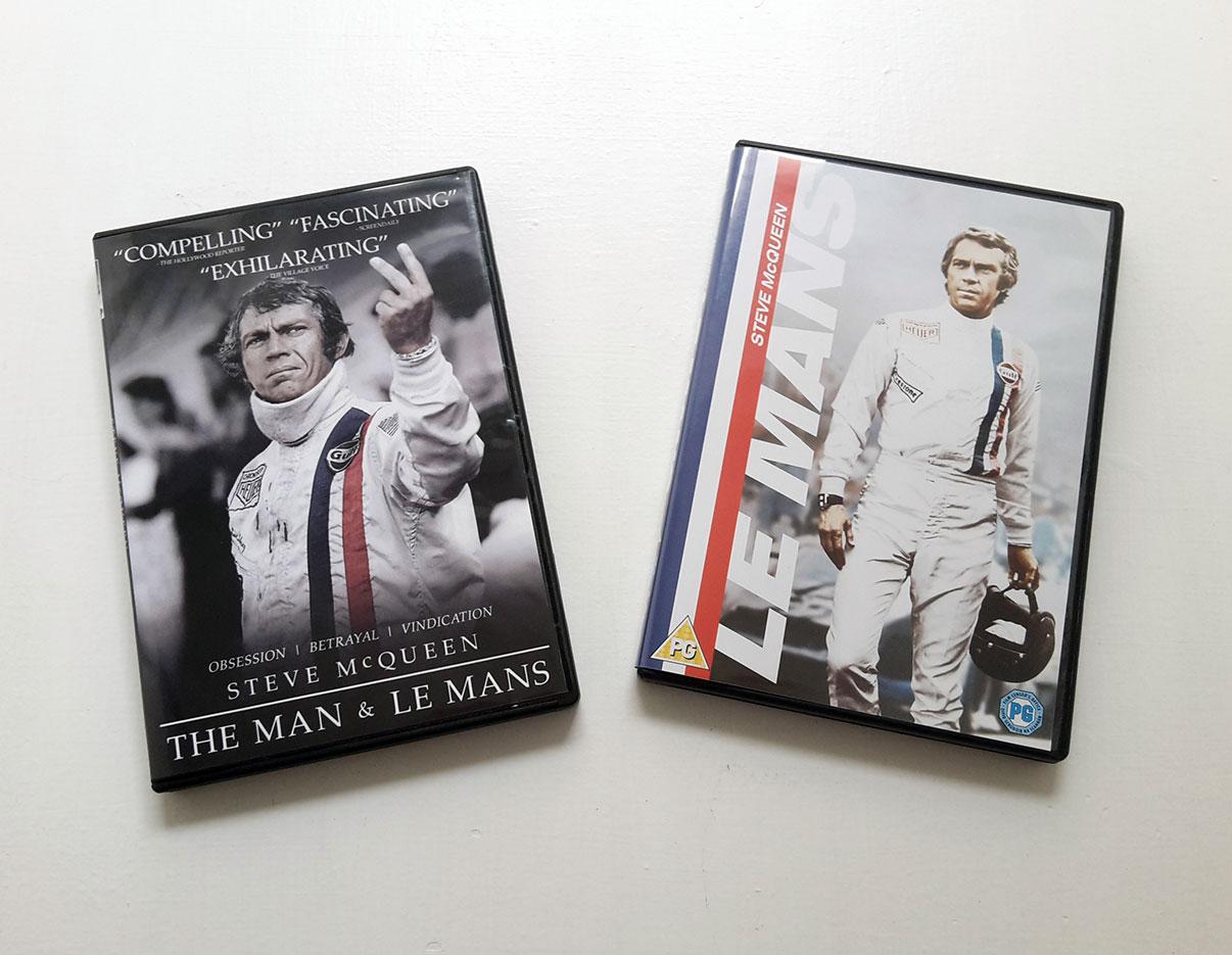 Steve McQueen Le Mans Film DVD