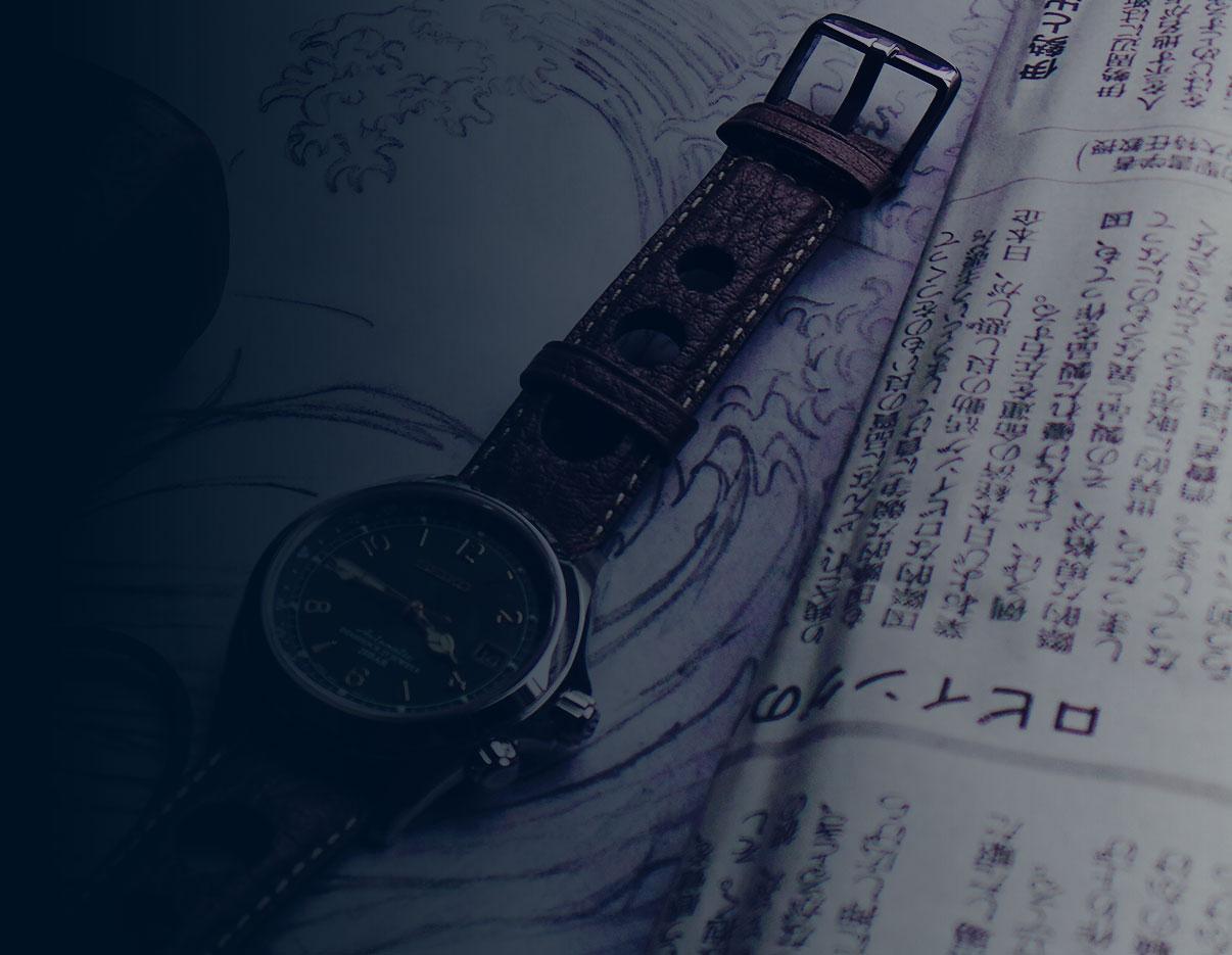 Modern & Vintage Timepiece Art - uchi horology series