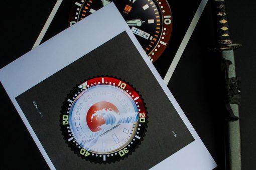uchi Timepiece Art - SEIKO SKX Mod C horology wall art