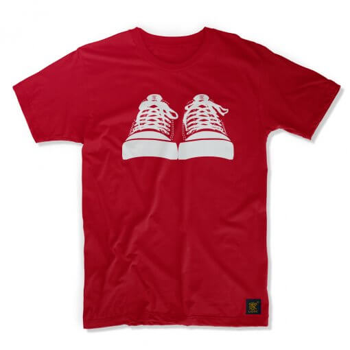 Threads men's fdcT shirt - Converse homage by uchi clothing -