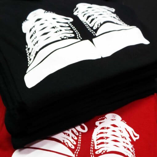 Threads men's T shirt - Converse homage by uchi clothing -