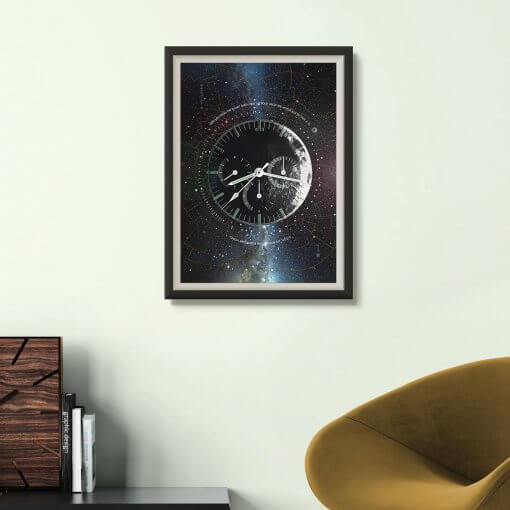 Omega Speedmaster Professional Moonwatch Horology art print