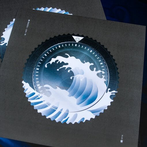 uchi Timepiece Art - SEIKO SKX Mod B wall art